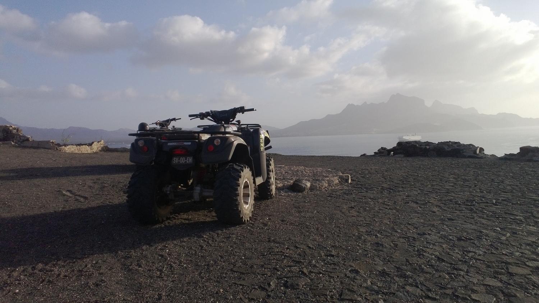 Quad - São Vicente, Cap-Vert