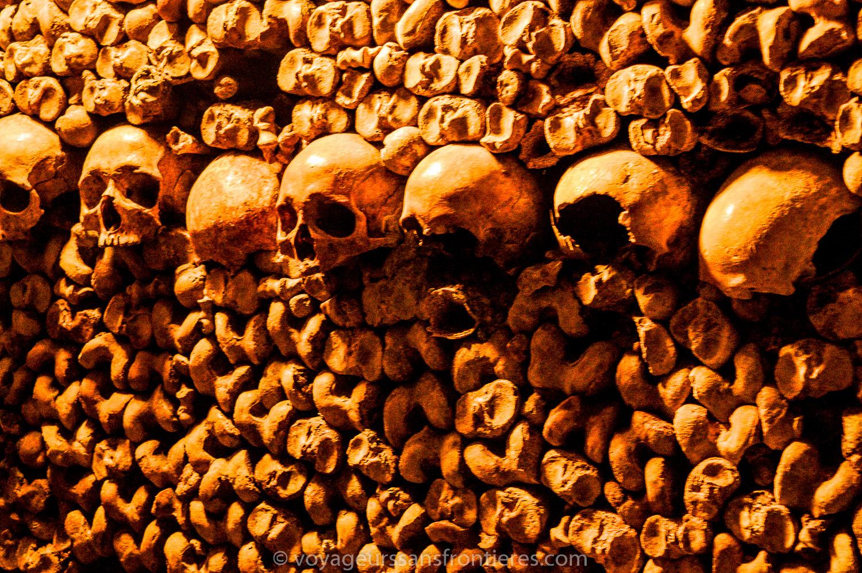 Bones and skulls - Paris Catacombs, France