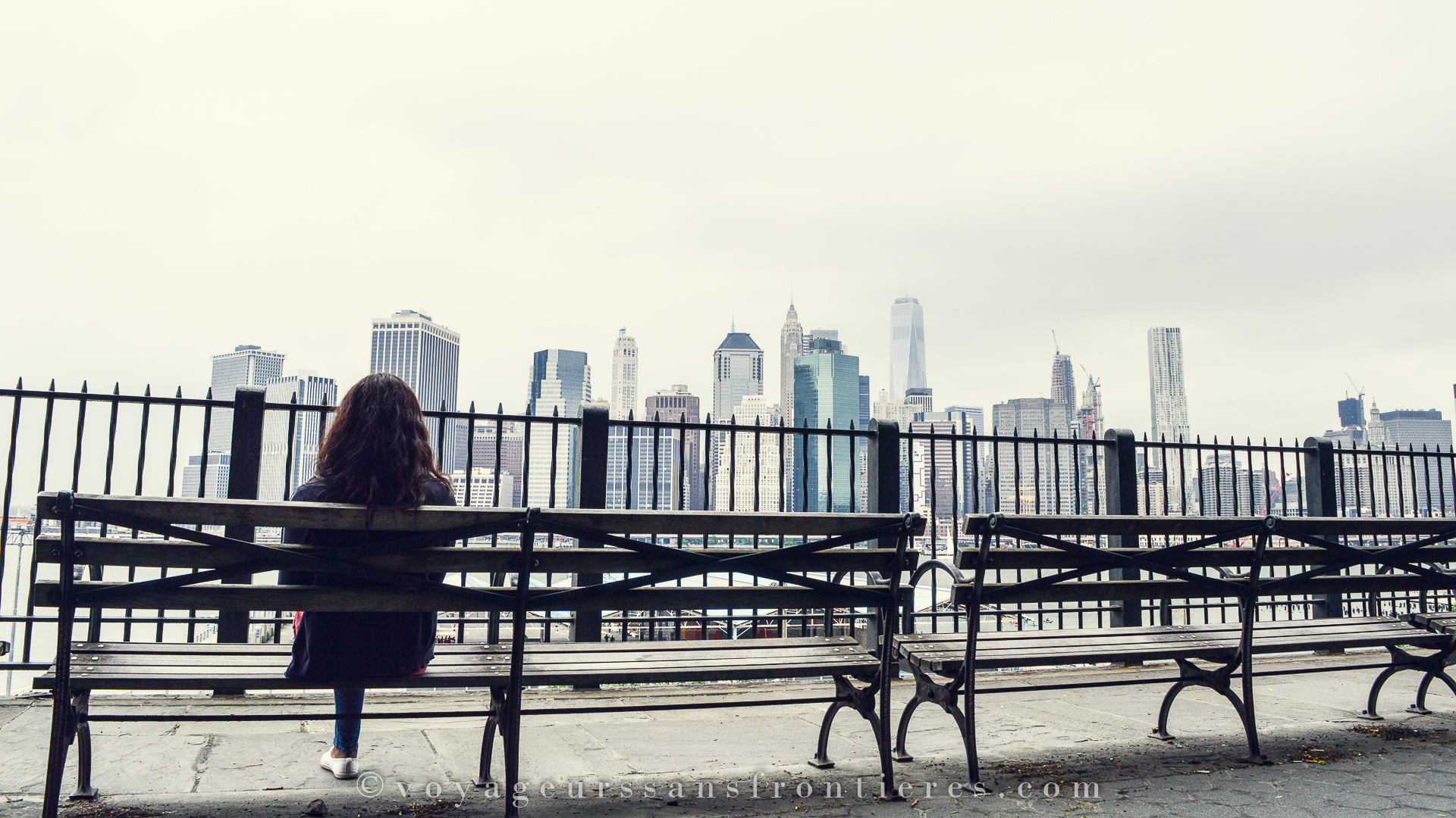 View on Manhattan from Brooklyn in New York City - Borderless Travelers