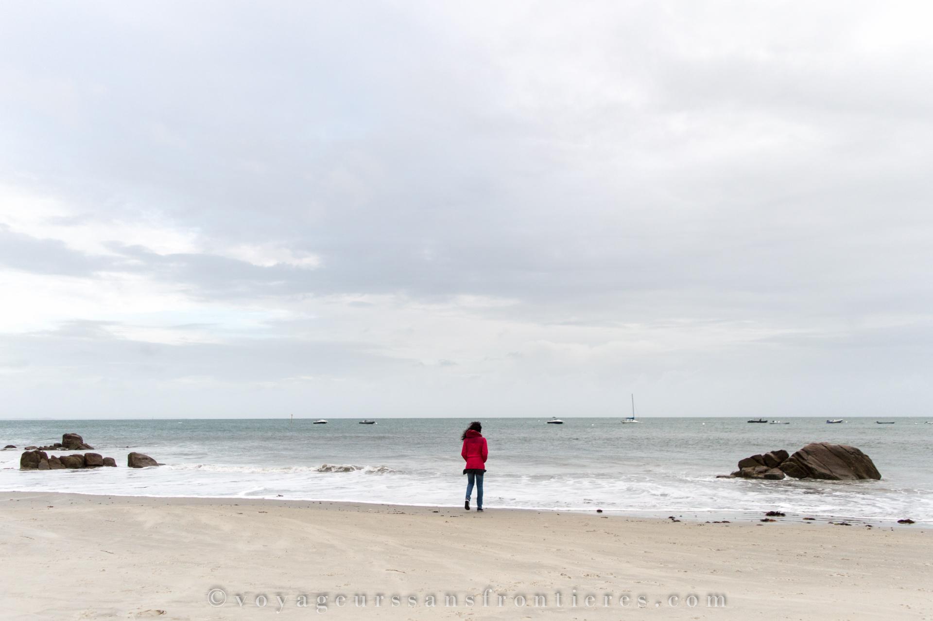 Carnac beach - Brittany