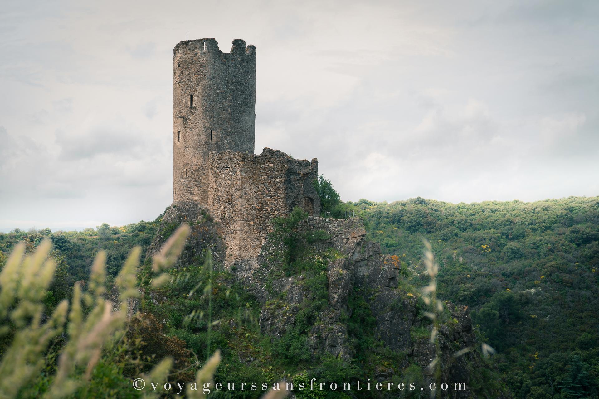 Châteaux de Lastours - Collines Cathares, France