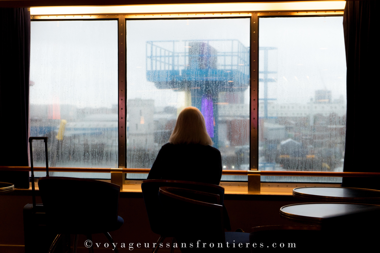 Sur le bateau de Brittany Ferry en direction de Londres - Angleterre